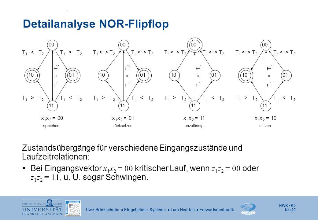 Detailanalyse NOR-Flipflop