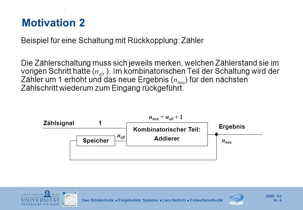 Kombinatorischer Teil: