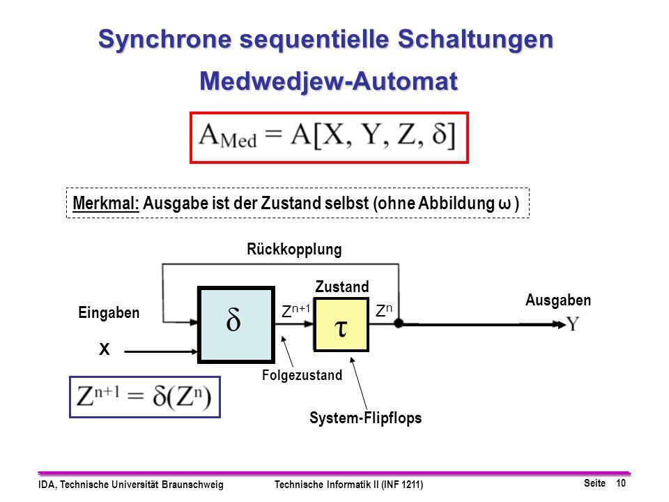 Synchrone sequentielle Schaltungen
