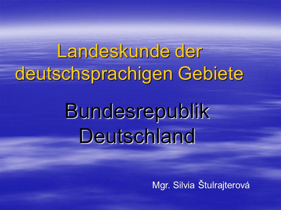 Landeskunde der deutschsprachigen Gebiete