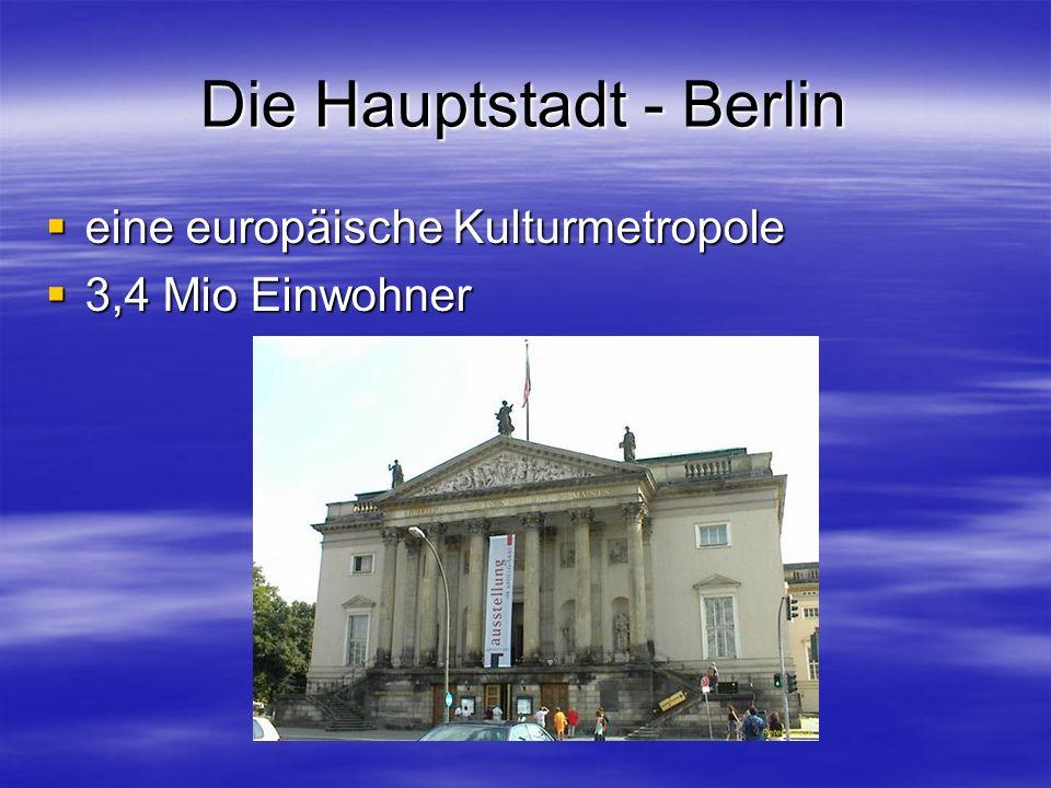 Die Hauptstadt - Berlin