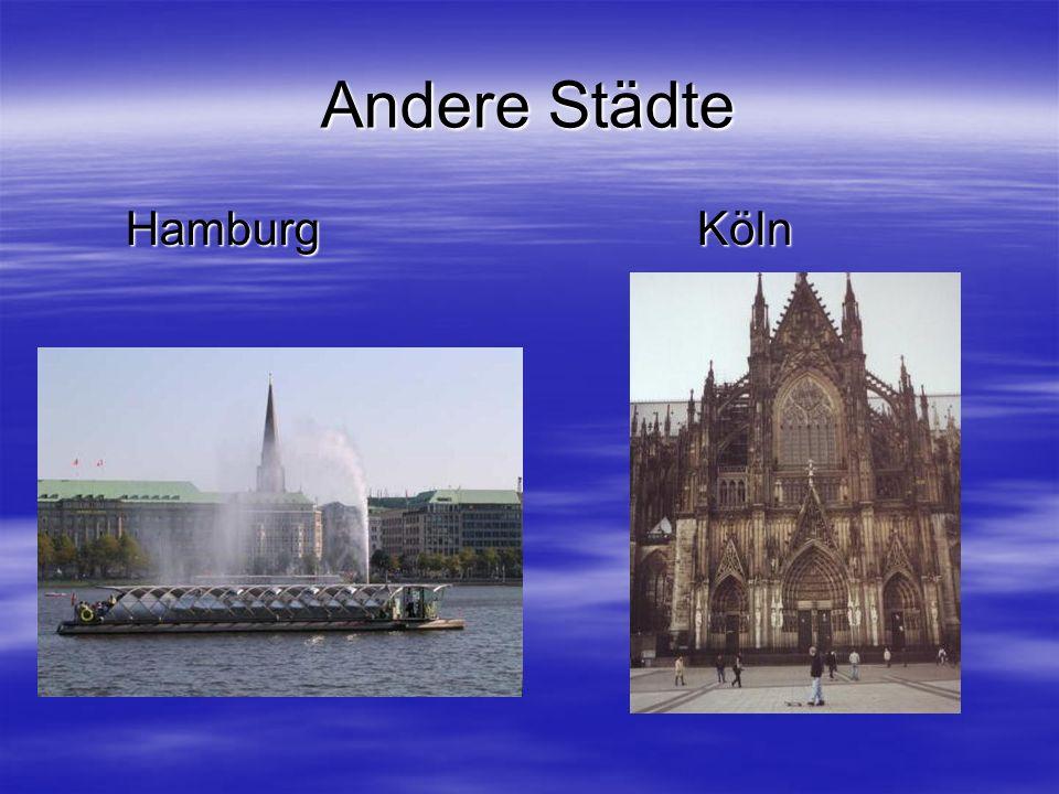 Andere Städte Hamburg Köln