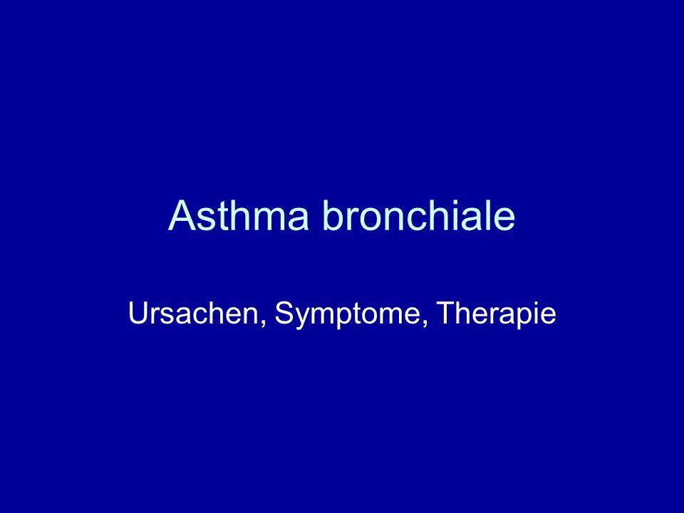Ursachen, Symptome, Therapie