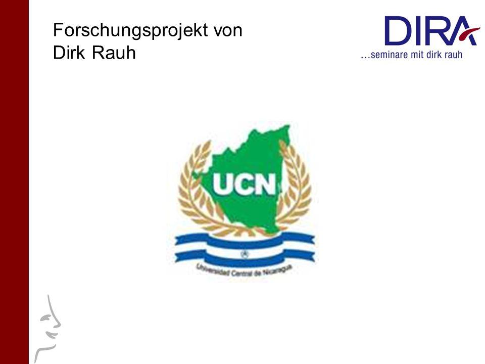 Forschungsprojekt von Dirk Rauh