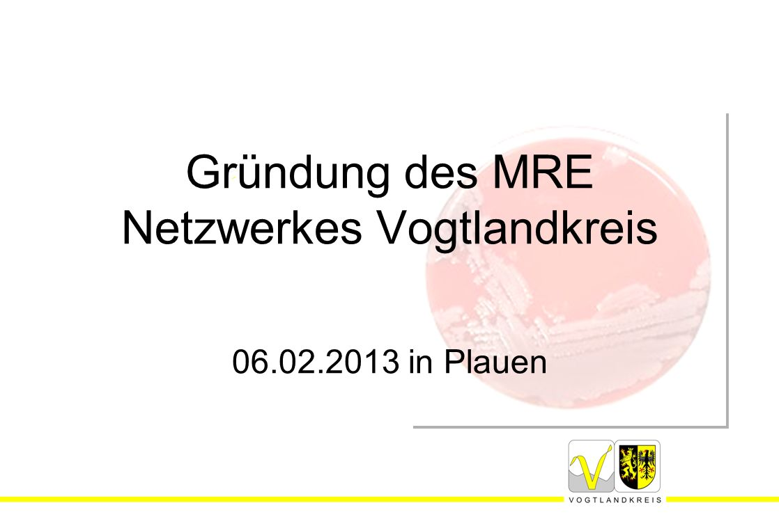 Gründung des MRE Netzwerkes Vogtlandkreis