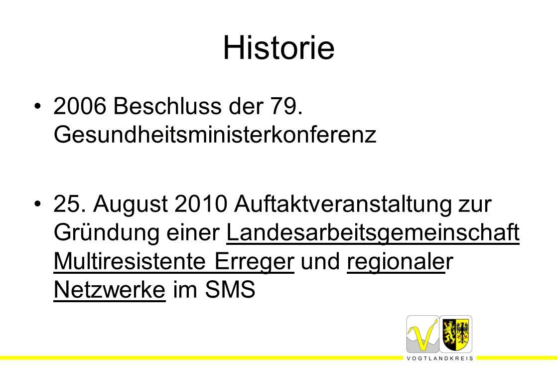 Historie 2006 Beschluss der 79. Gesundheitsministerkonferenz