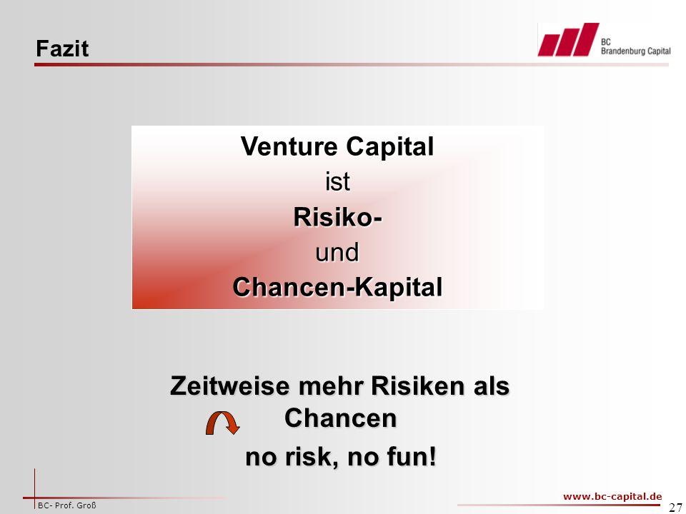 Zeitweise mehr Risiken als Chancen