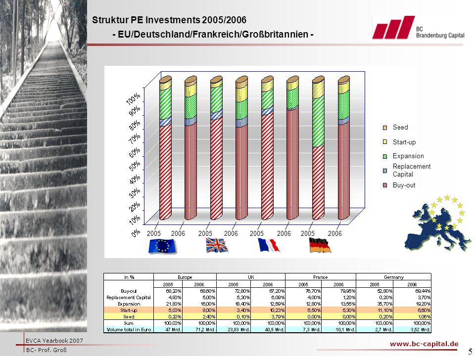 Struktur PE Investments 2005/2006