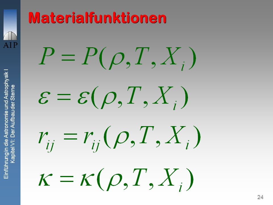 Materialfunktionen