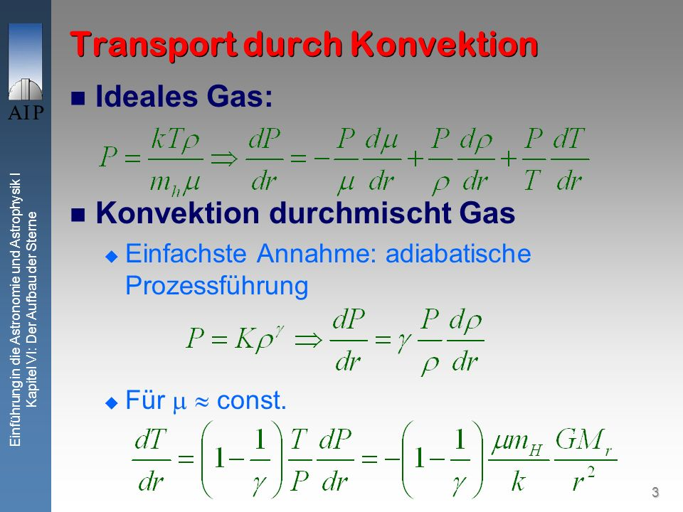 Transport durch Konvektion