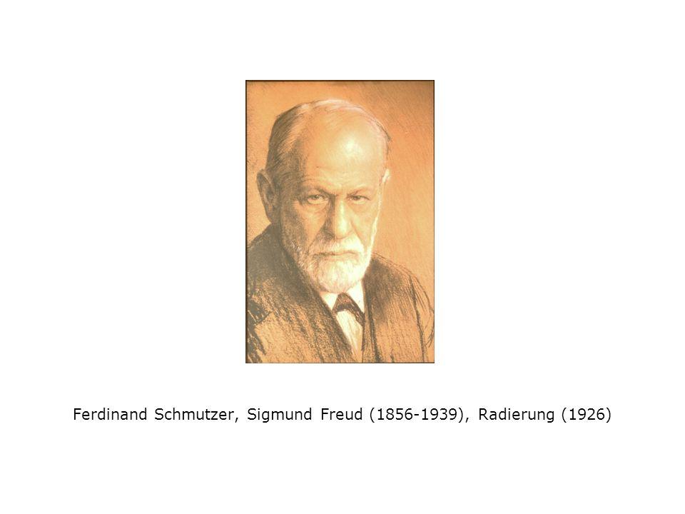 Ferdinand Schmutzer, Sigmund Freud (1856-1939), Radierung (1926)