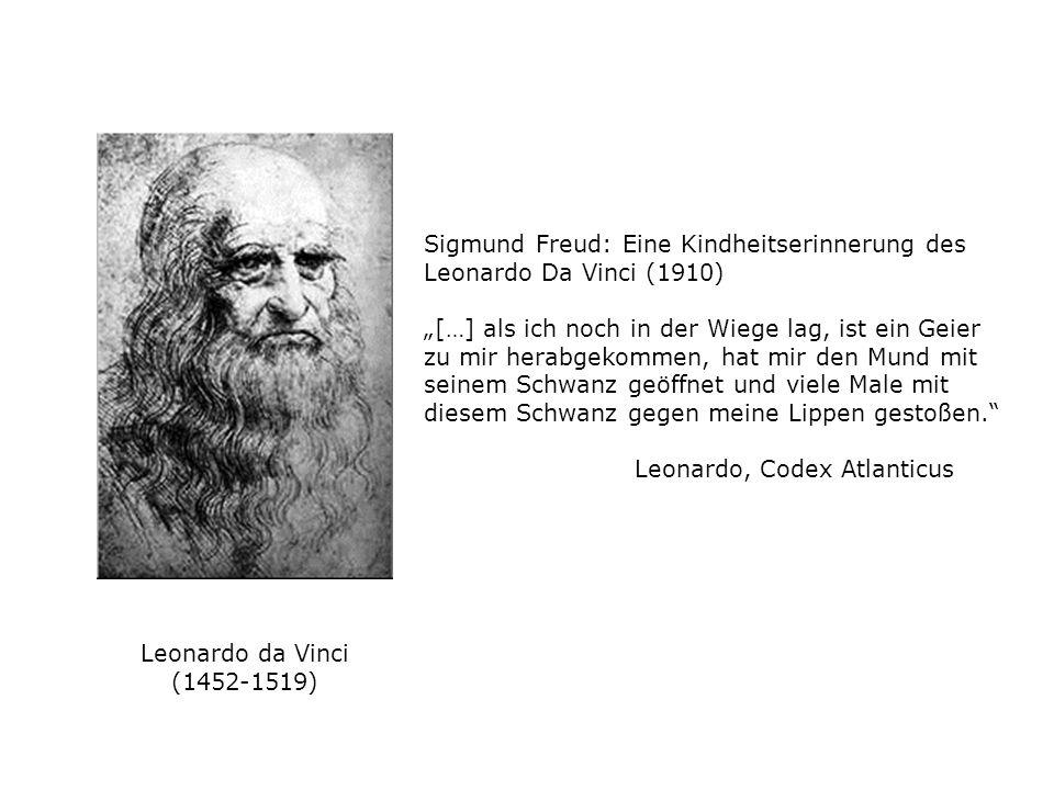 Sigmund Freud: Eine Kindheitserinnerung des Leonardo Da Vinci (1910)