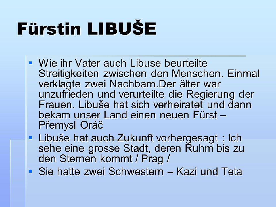 Fürstin LIBUŠE