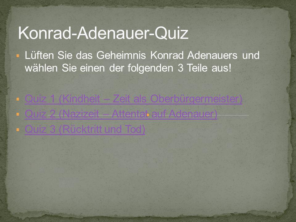 Konrad-Adenauer-Quiz