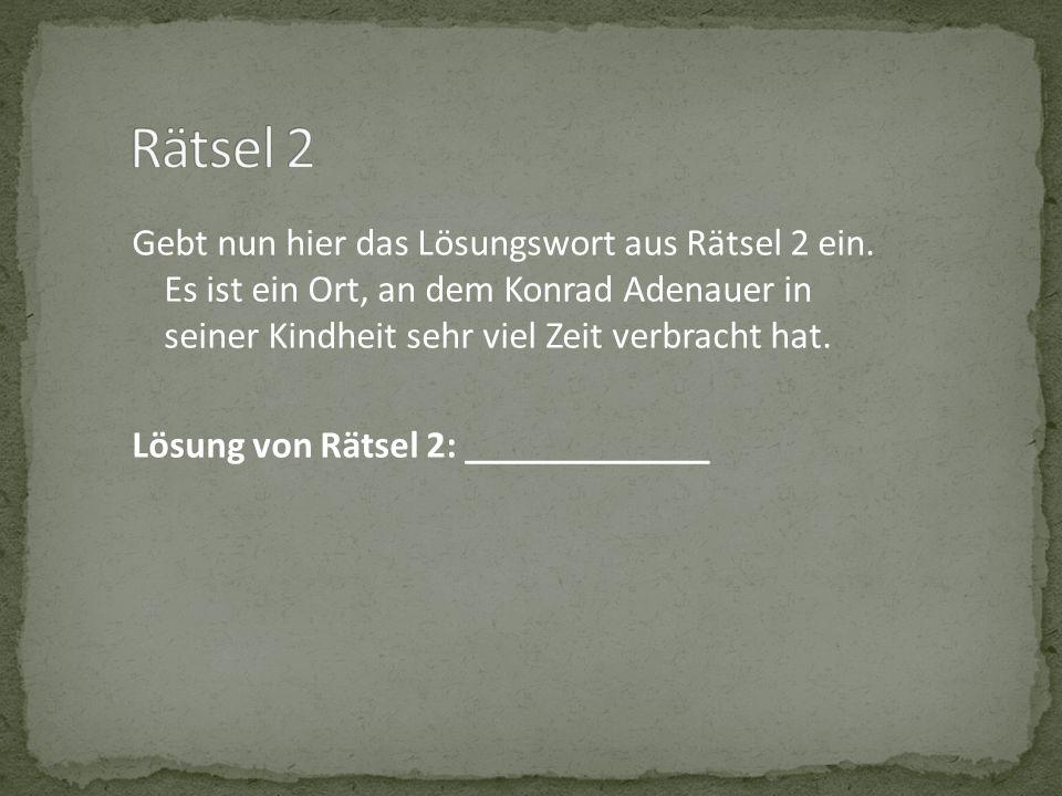 Rätsel 2