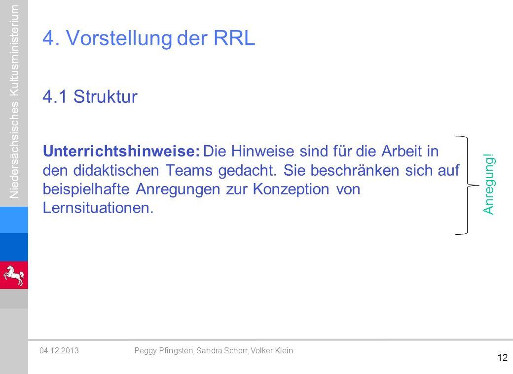 4. Vorstellung der RRL 4.1 Struktur