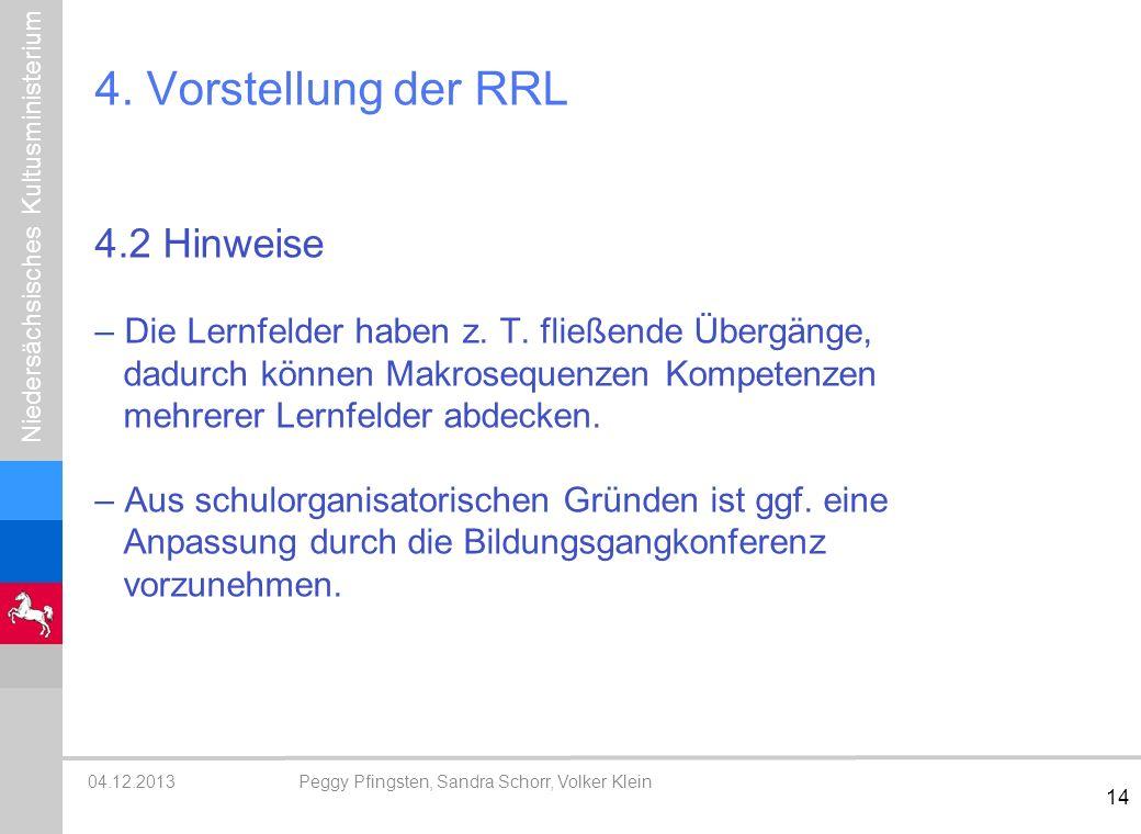 4. Vorstellung der RRL 4.2 Hinweise