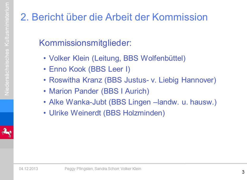 2. Bericht über die Arbeit der Kommission