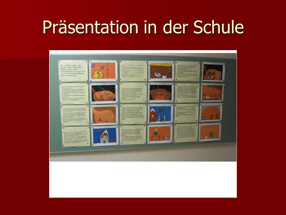 Präsentation in der Schule