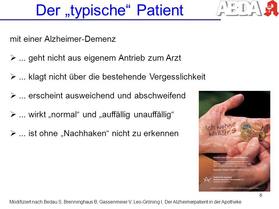 """Der """"typische Patient"""