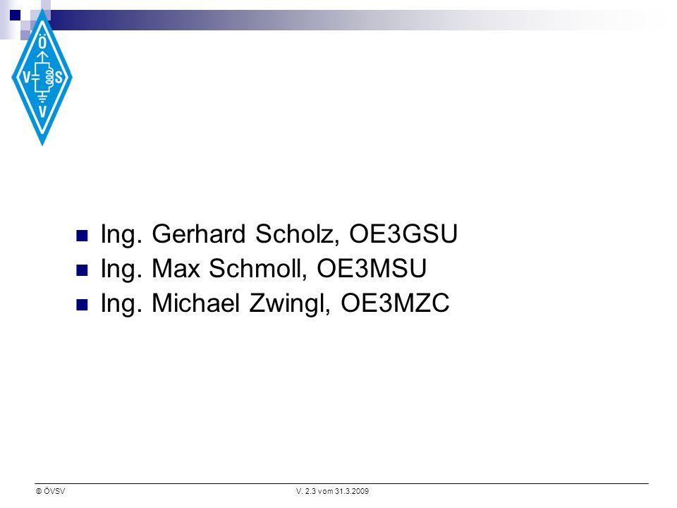 Ing. Gerhard Scholz, OE3GSU