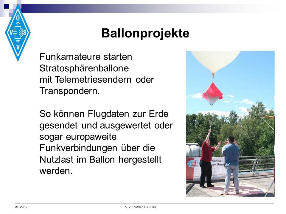 Ballonprojekte Funkamateure starten Stratosphärenballone