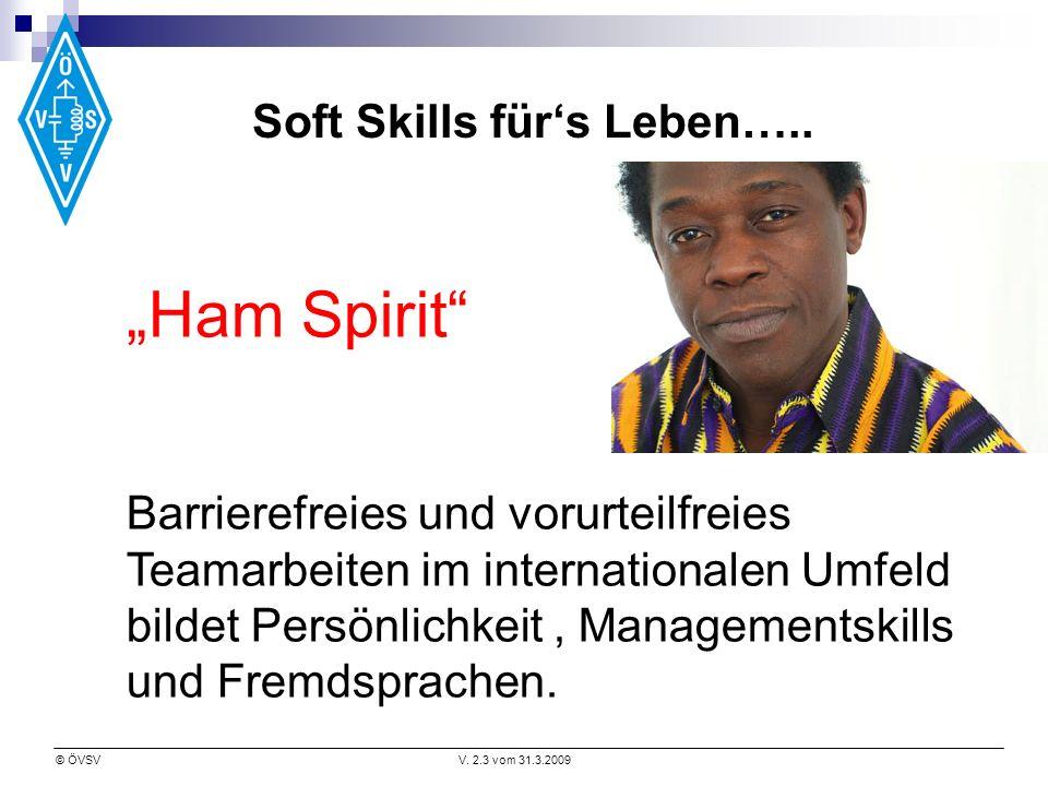 Soft Skills für's Leben…..