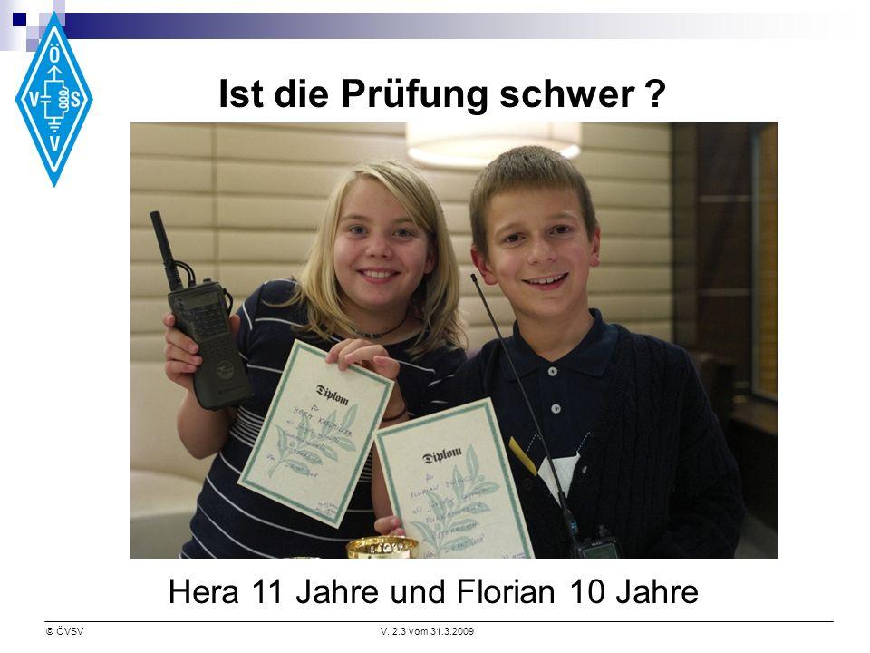 Ist die Prüfung schwer Hera 11 Jahre und Florian 10 Jahre