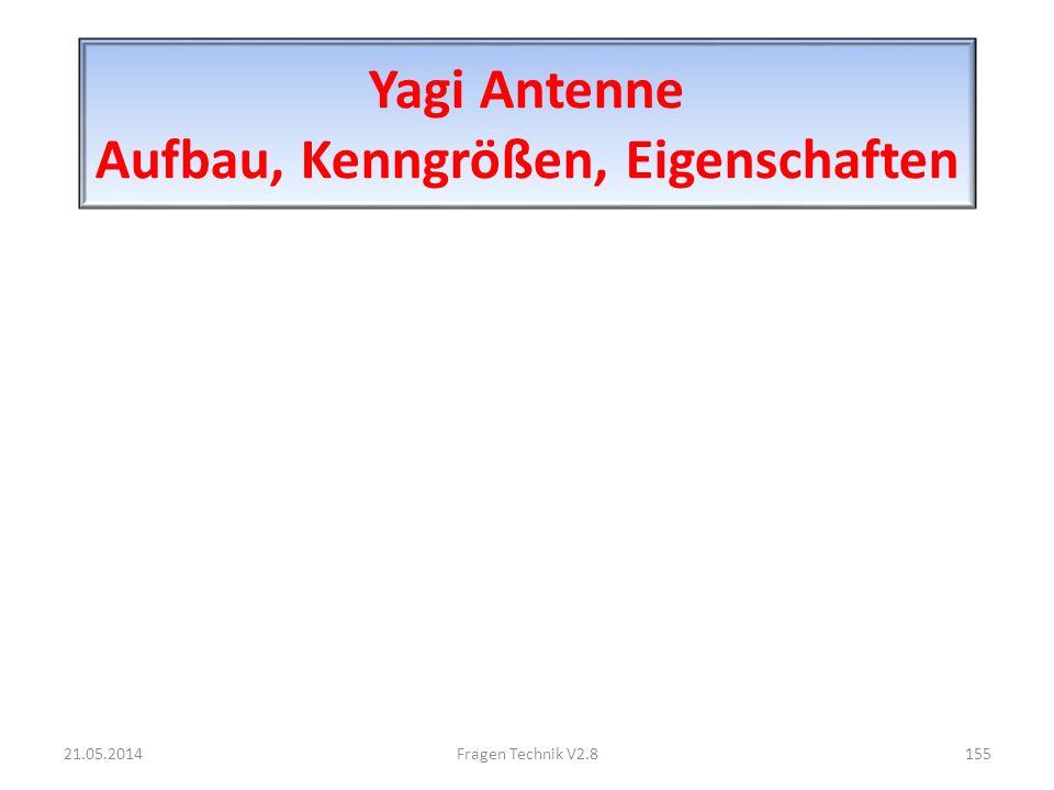 Yagi Antenne Aufbau, Kenngrößen, Eigenschaften