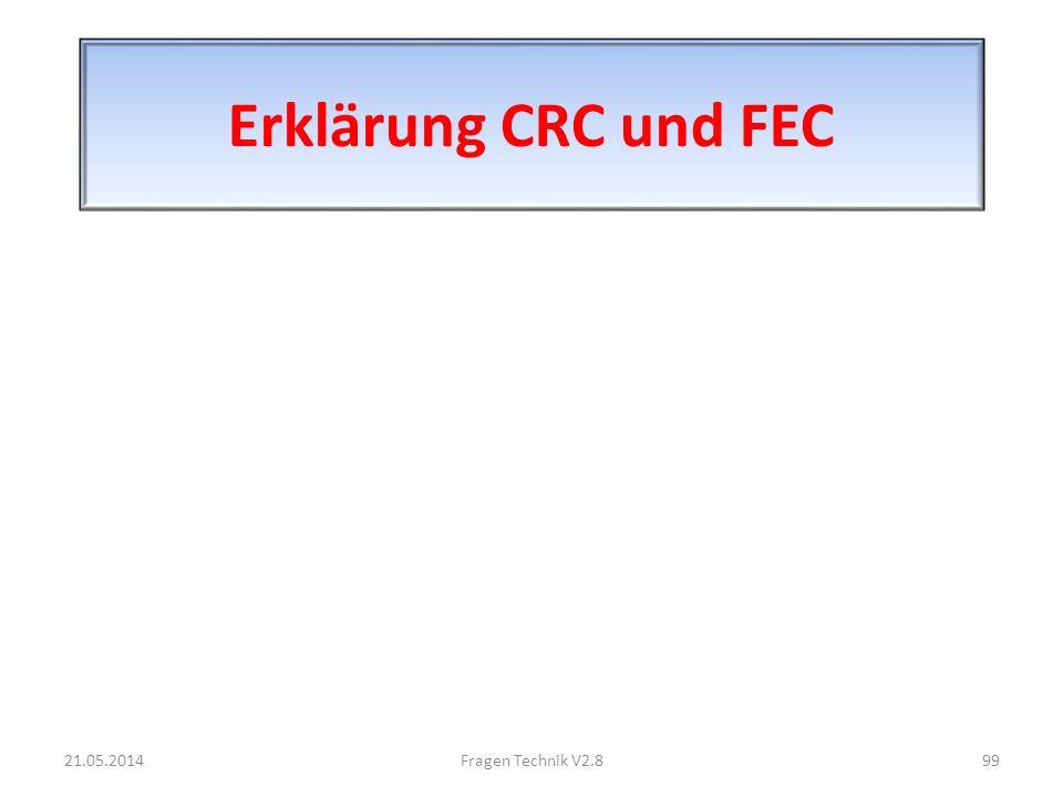 Erklärung CRC und FEC 31.03.2017 Fragen Technik V2.8