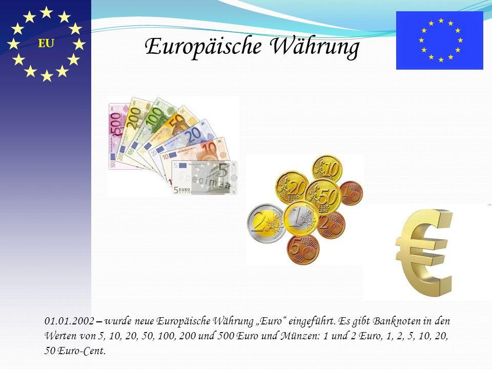 Europäische Währung EU