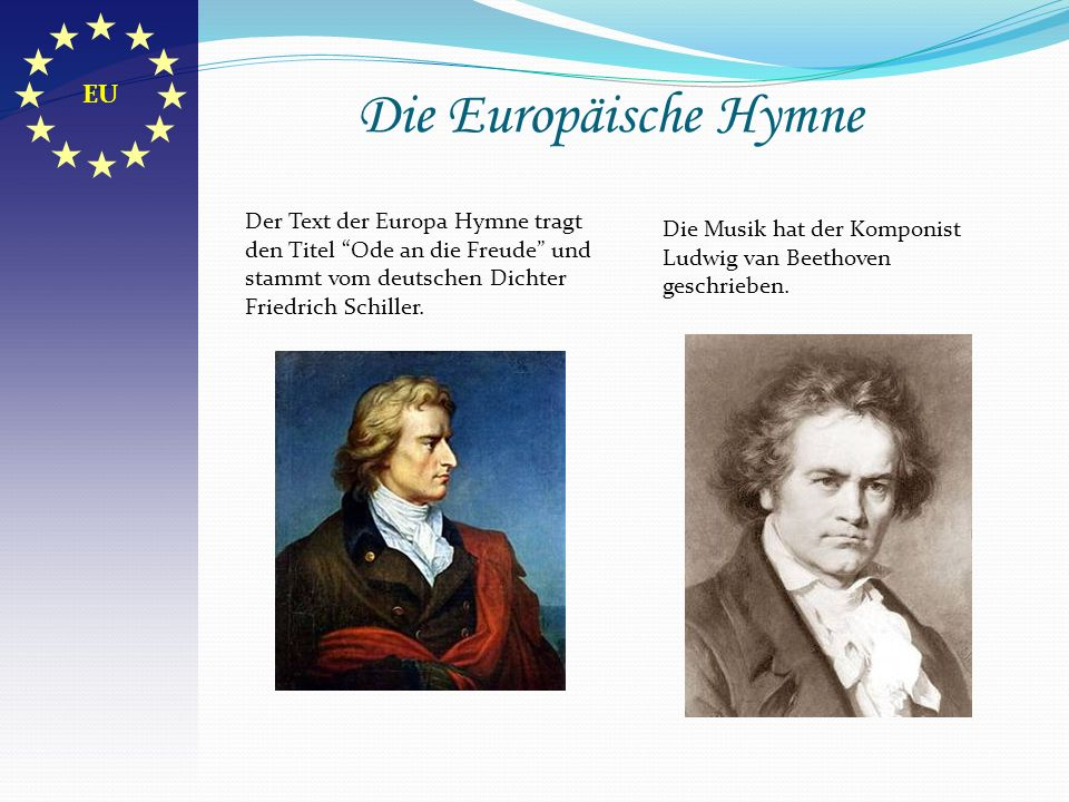 Die Europäische Hymne EU