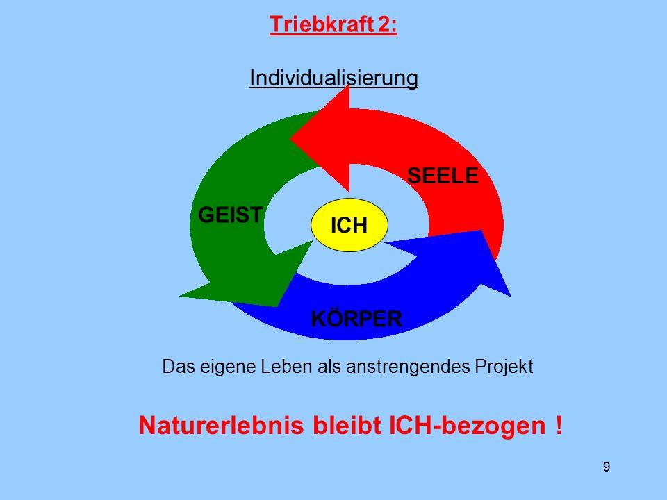 Triebkraft 2: Individualisierung