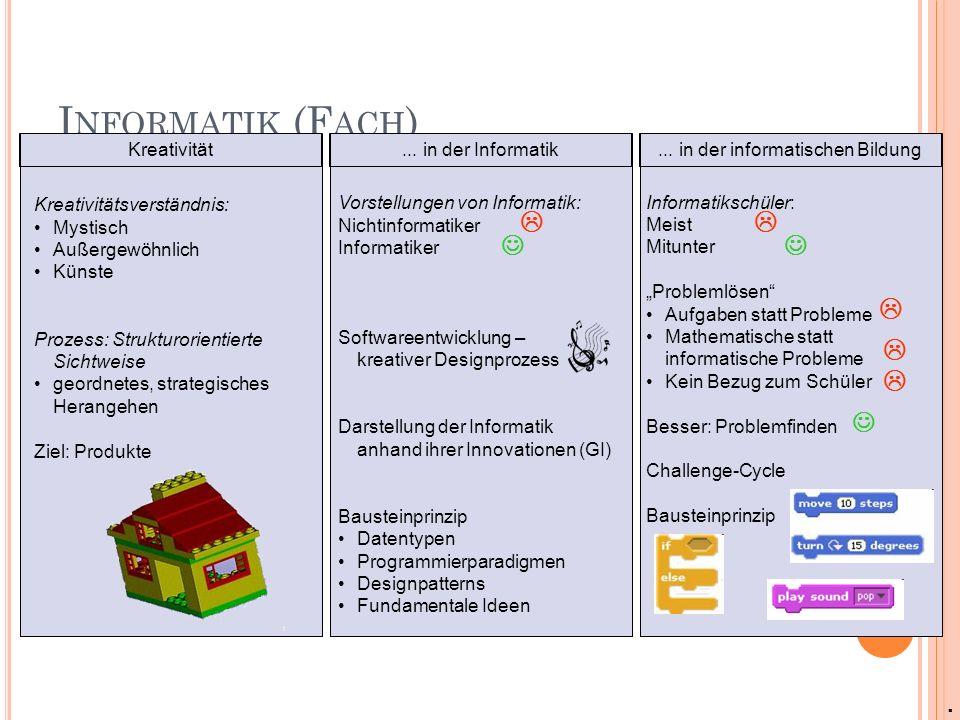... in der informatischen Bildung