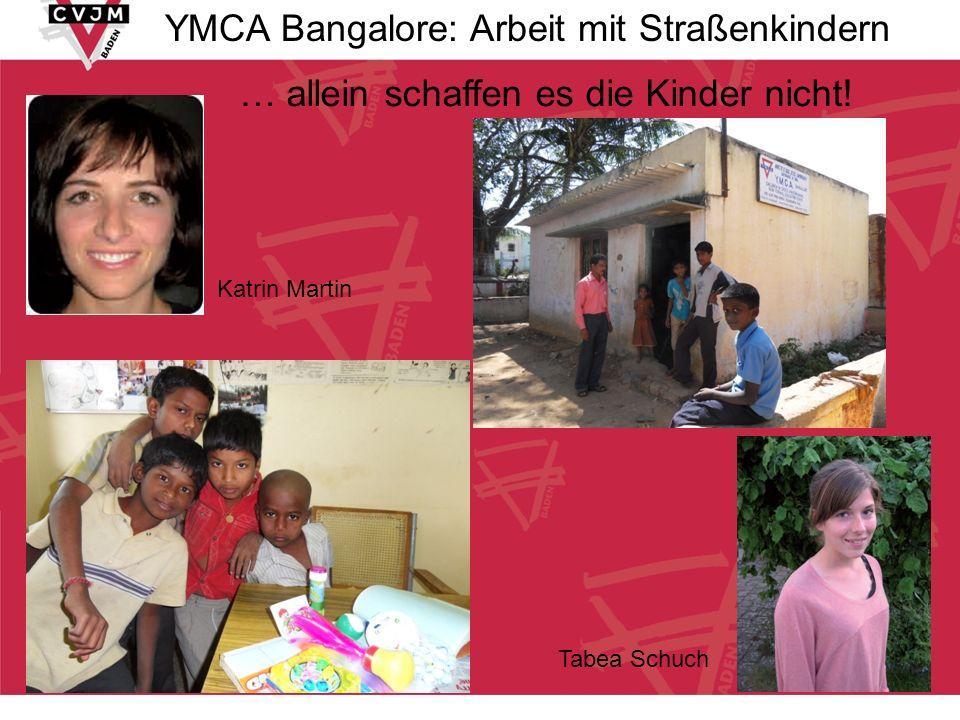 YMCA Bangalore: Arbeit mit Straßenkindern