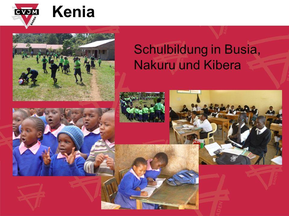 Kenia Schulbildung in Busia, Nakuru und Kibera