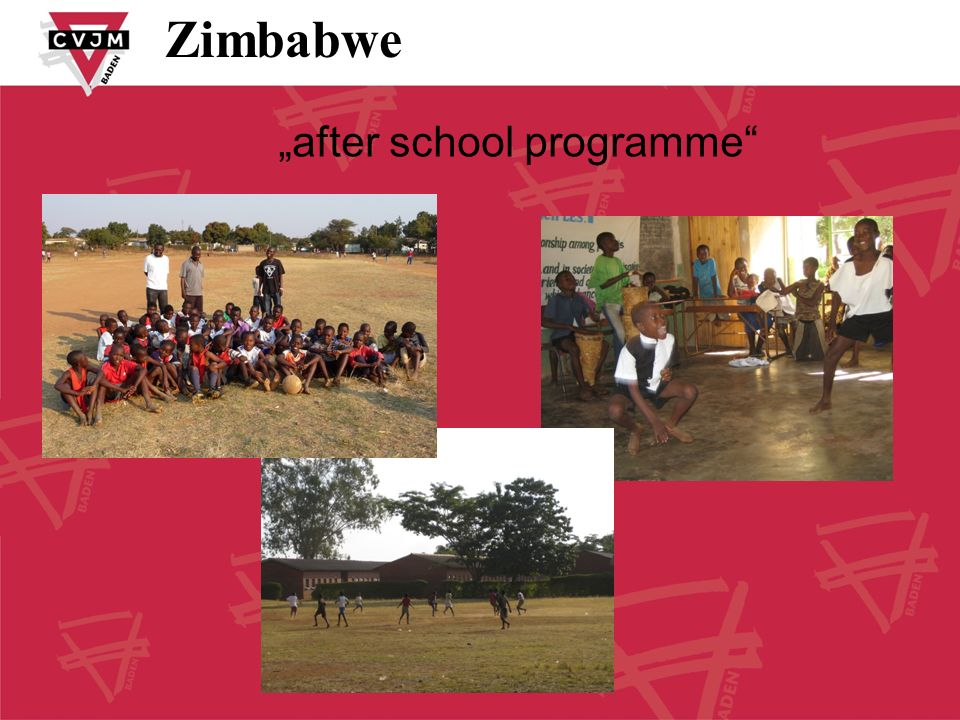"Zimbabwe ""after school programme"