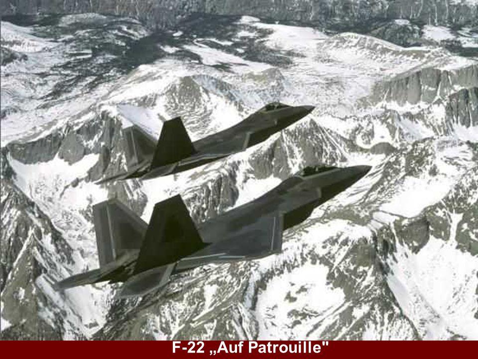 "F-22 ""Auf Patrouille"