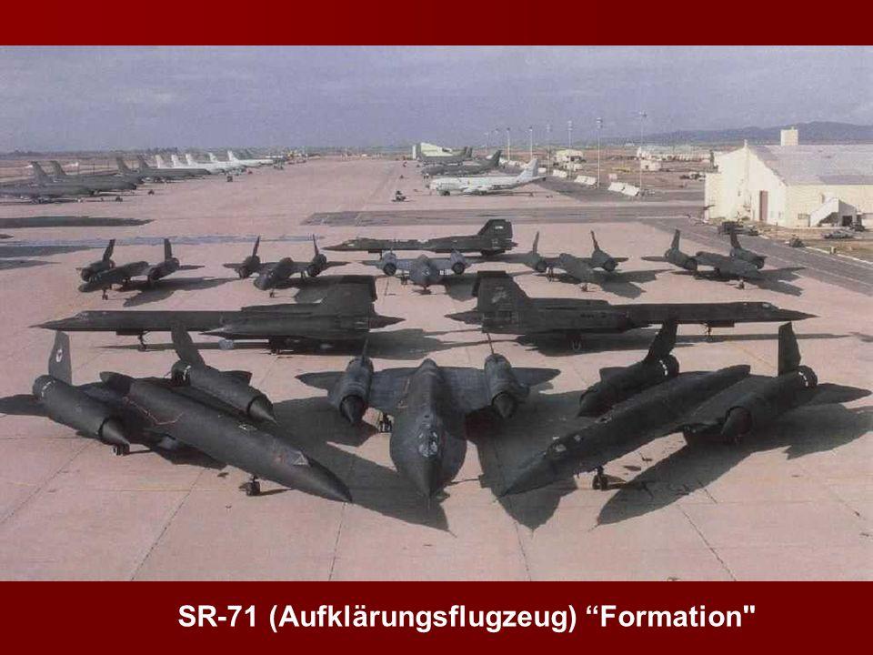 SR-71 (Aufklärungsflugzeug) Formation