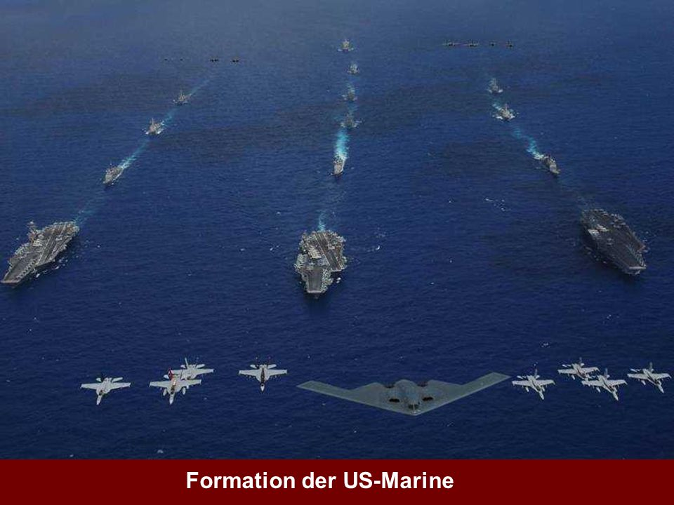 Formation der US-Marine