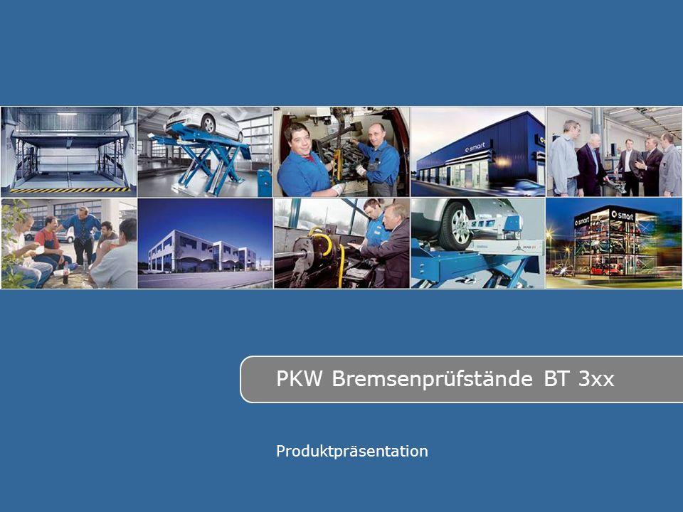 PKW Bremsenprüfstände BT 3xx