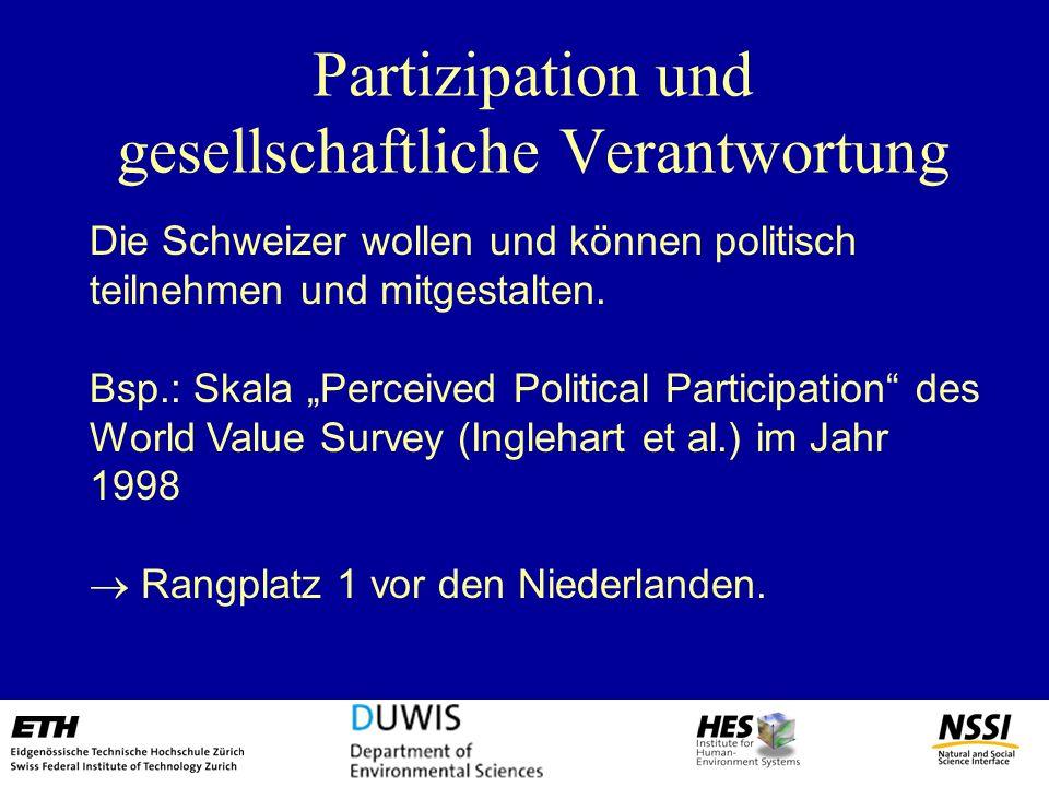 Partizipation und gesellschaftliche Verantwortung