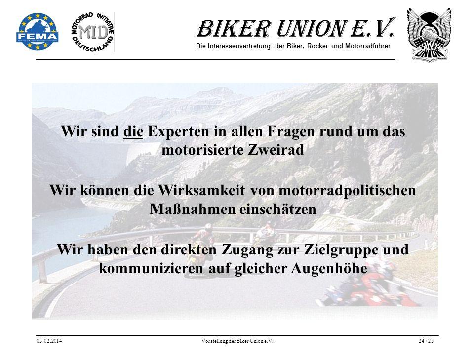 Wir sind die Experten in allen Fragen rund um das motorisierte Zweirad