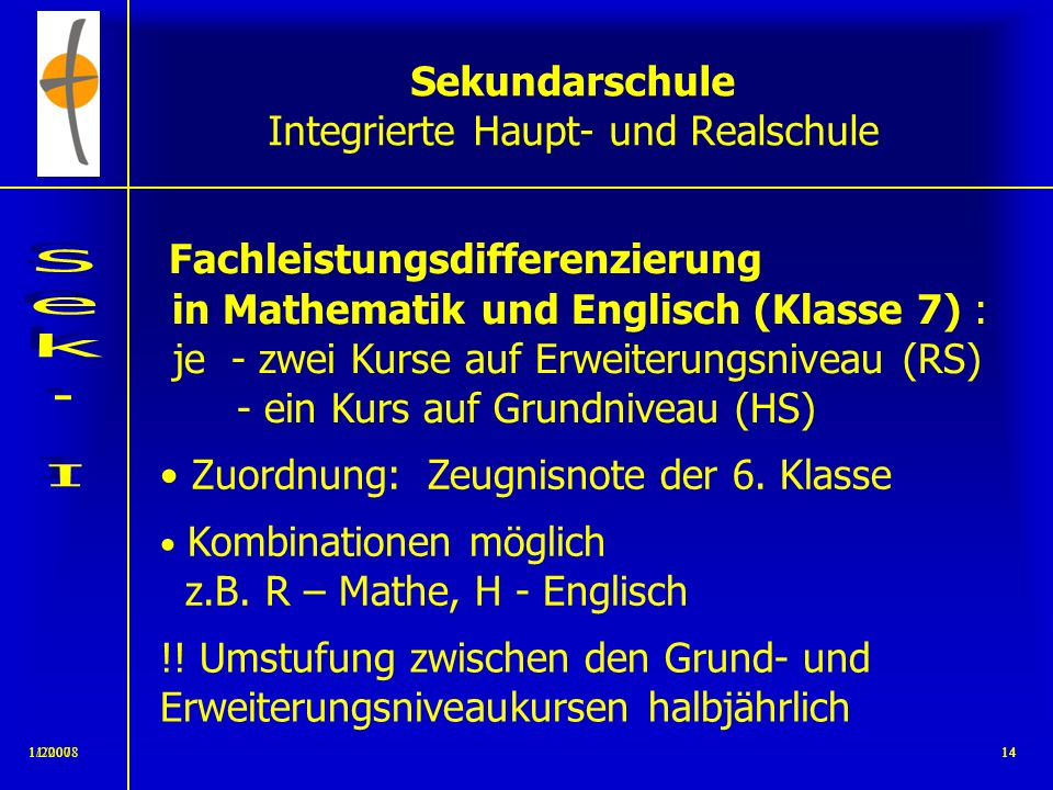 Sekundarschule Integrierte Haupt- und Realschule