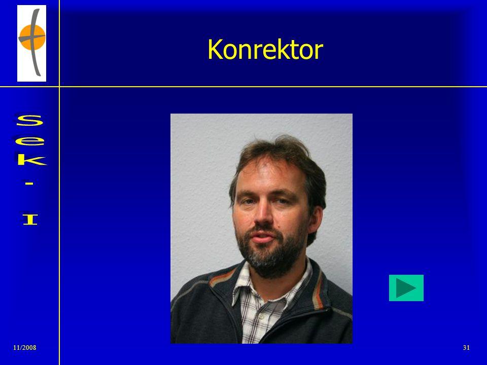 Konrektor 11/2008
