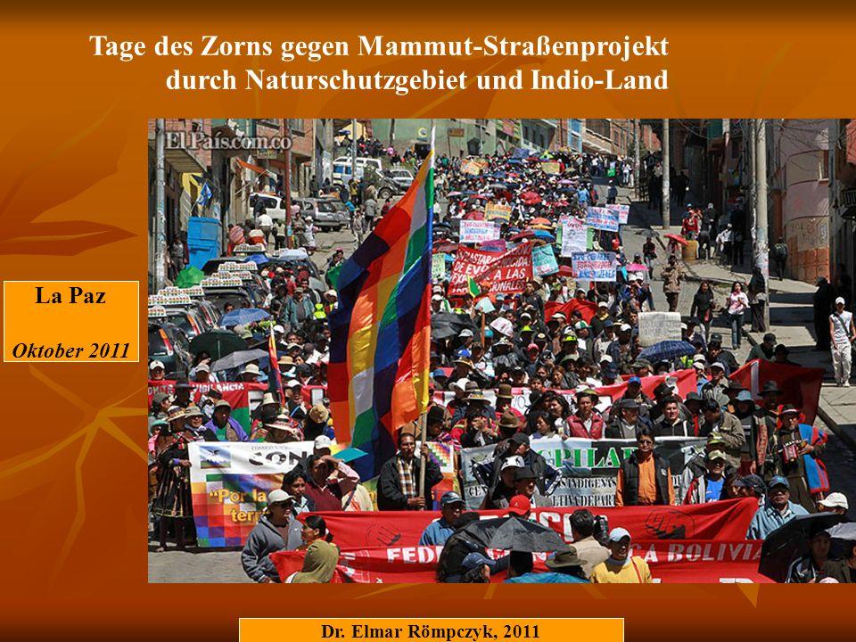 Tage des Zorns gegen Mammut-Straßenprojekt