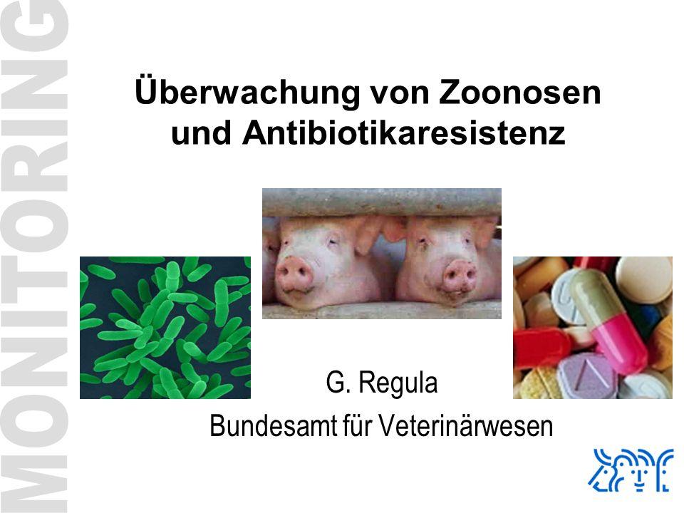 Überwachung von Zoonosen und Antibiotikaresistenz