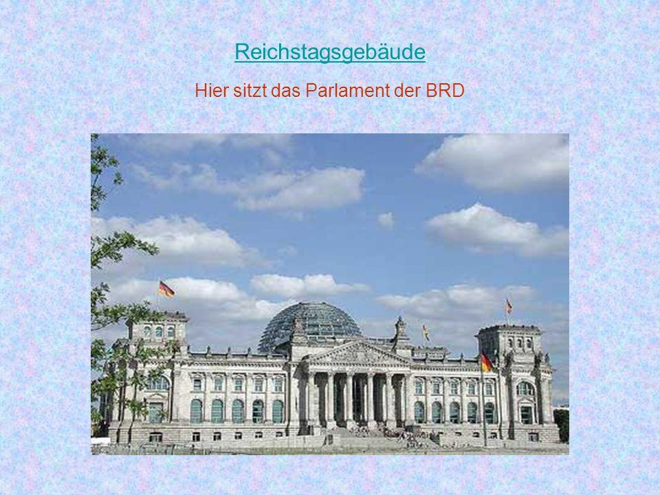 Hier sitzt das Parlament der BRD