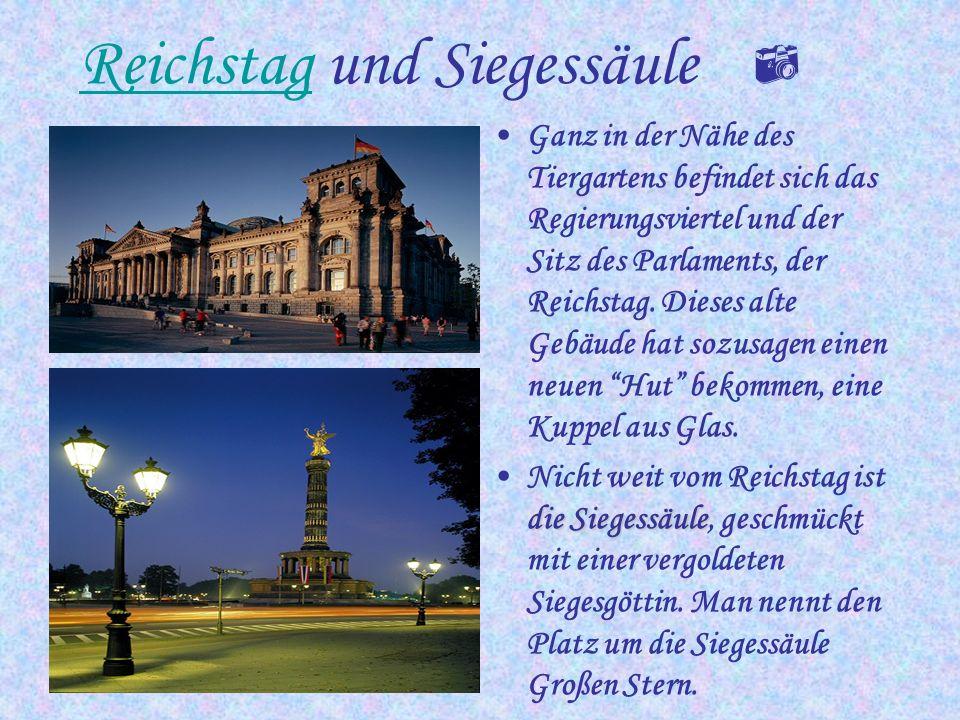 Reichstag und Siegessäule 