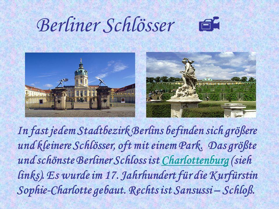Berliner Schlösser 